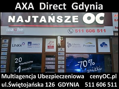 Axa Direct Gdynia