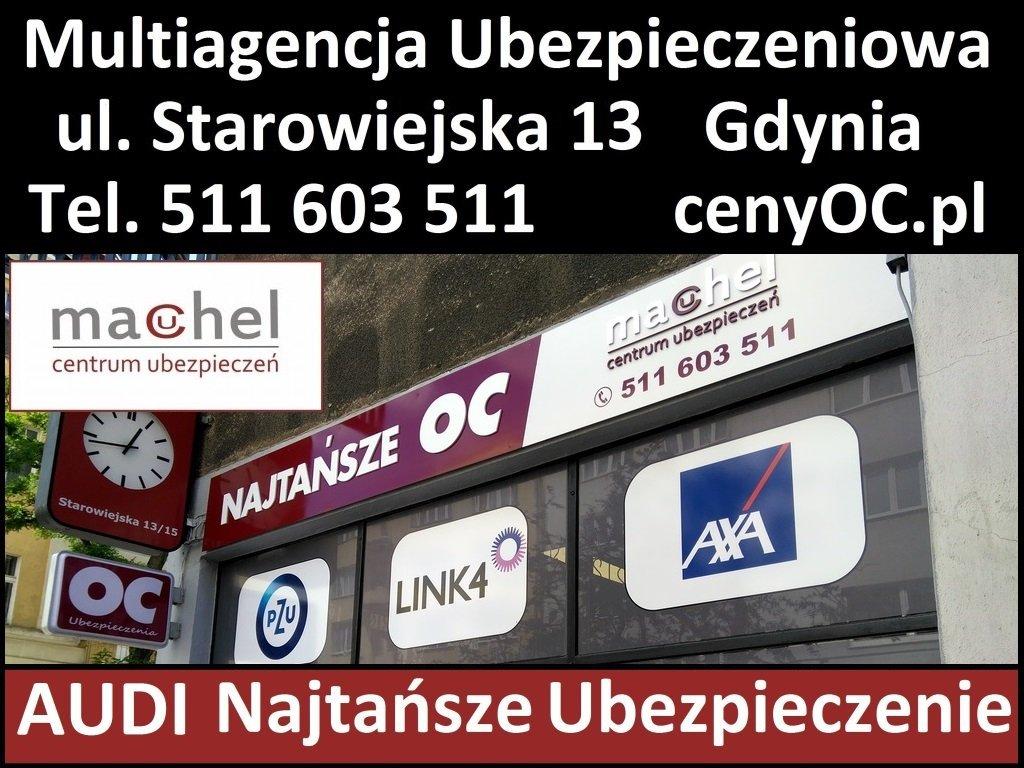 Audi OC Gdynia