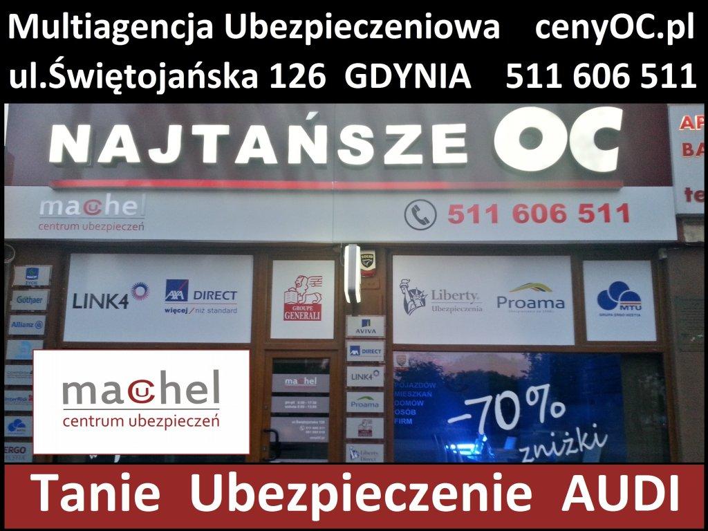 Ubezpieczenie Audi Gdynia