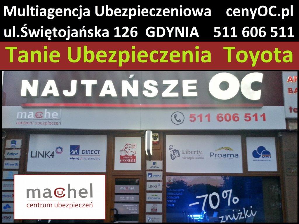 Ubezpieczenie Toyota Gdynia