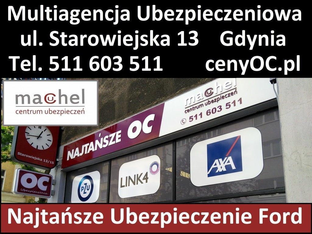Ubezpieczenie Ford Gdynia