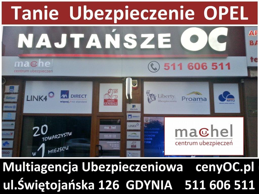 Ubezpieczenie Opel Gdynia